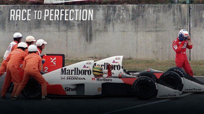 """日本GPでの""""セナプロ対決""""など、語り継がれる数々の瞬間を紹介するエピソード5"""