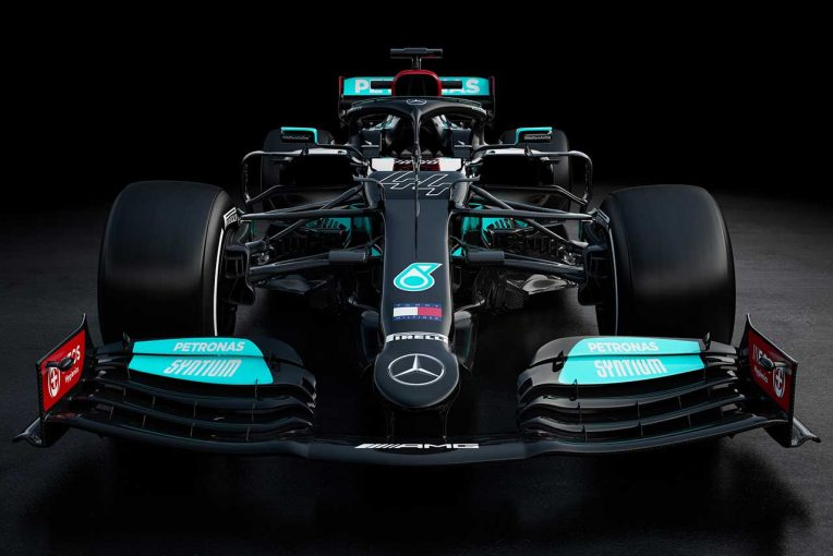 F1 | 【ギャラリー】2021年型メルセデスF1マシン『W12』
