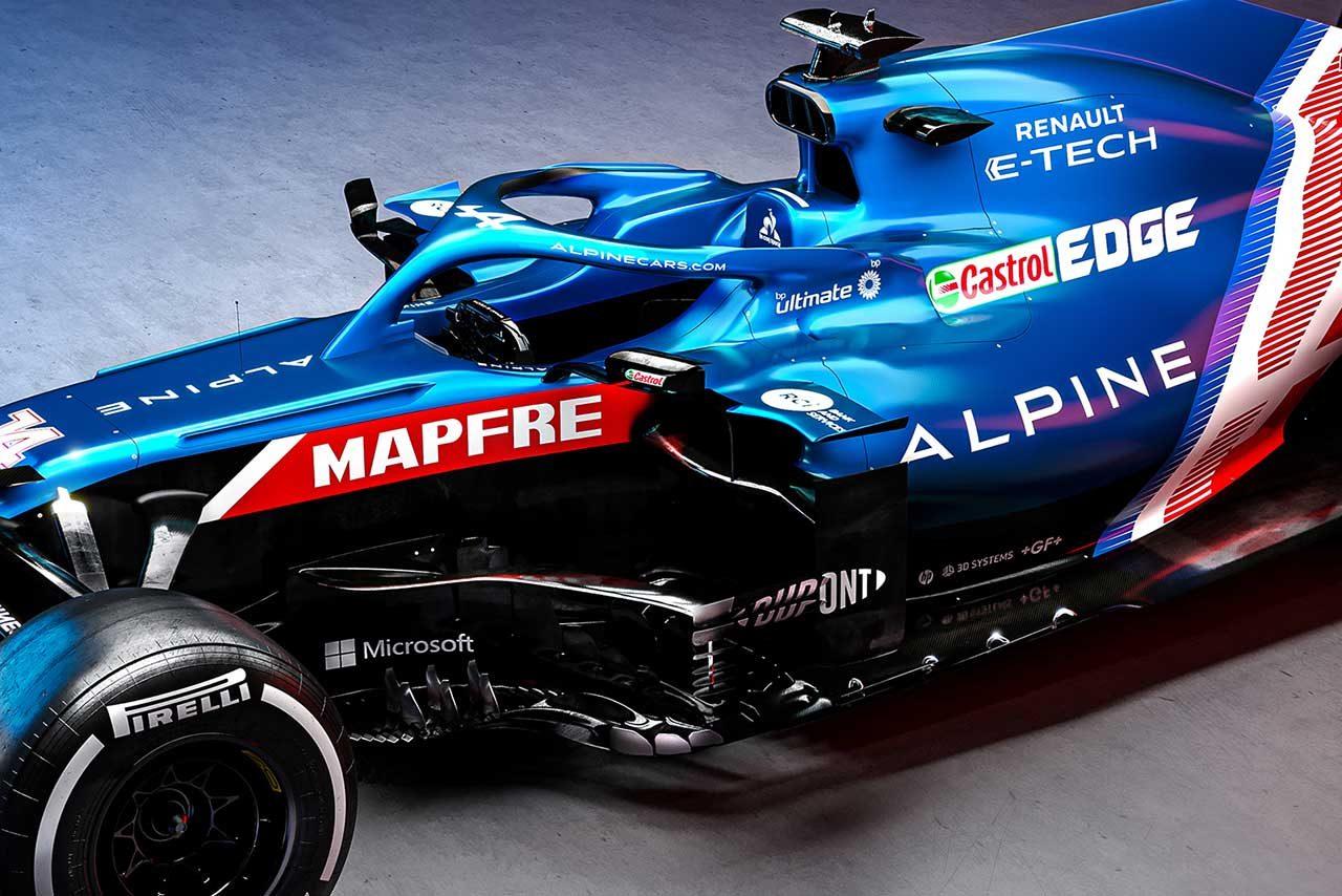 アルピーヌF1の2021年型マシン『A521』