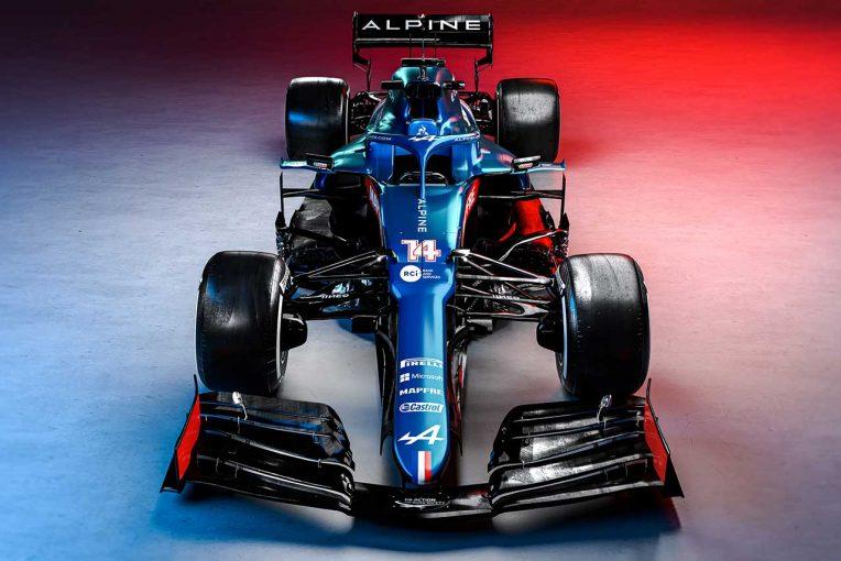 F1 | 【ギャラリー】2021年型アルピーヌF1マシン『A521』