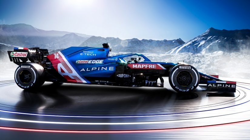 F1 | 2021年型アルピーヌF1『A521』:目標は表彰台。大改革ではなく進化を達成、PUの信頼性と性能にも自信あり