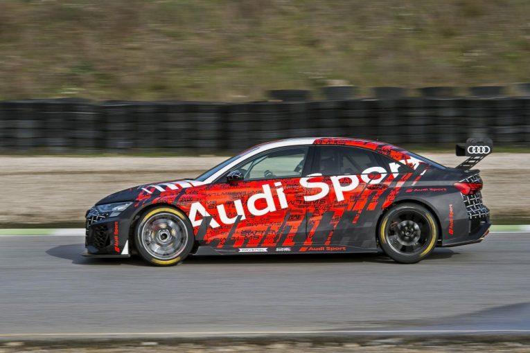 海外レース他 | アウディが新型『RS3 LMS』をシェイクダウン。ヒュンダイは『i30 N TCR』をアップデート