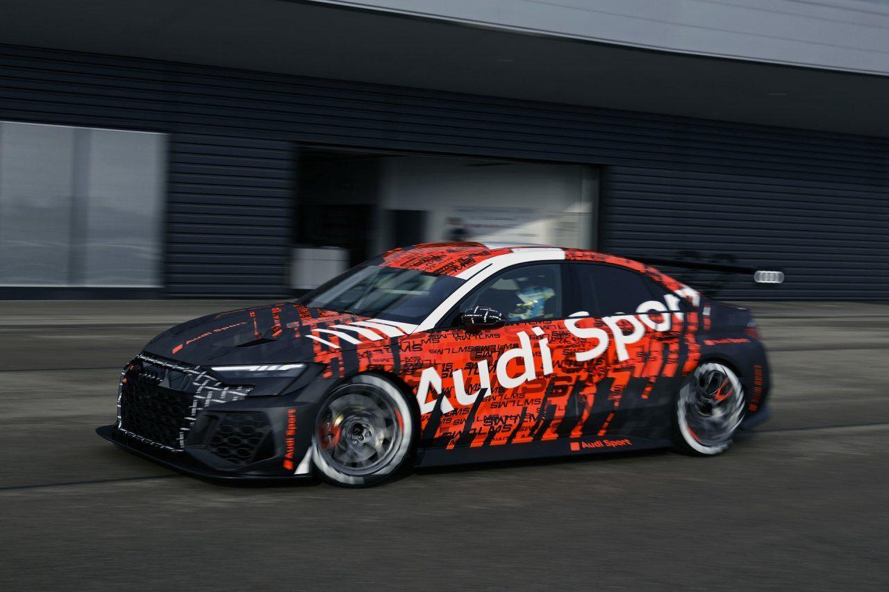 アウディが新型『RS3 LMS』をシェイクダウン。ヒュンダイは『i30 N TCR』をアップデート