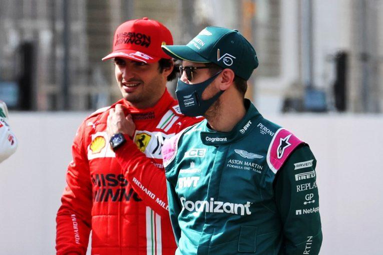 F1   「ベッテルは心から尊敬する人」サインツ、レッドブルジュニア時代に知った温かい人柄を語る