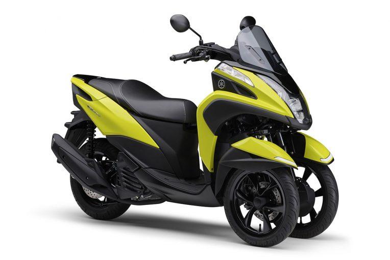 MotoGP | ヤマハ、TRICITY 125/ABSの2021年モデルに新色イエローを採用して4月8日に発売