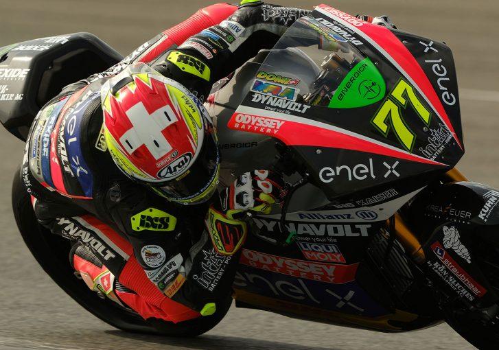 MotoGP | MotoE、2021年初テストがヘレスでスタート。首位はエガーター、大久保光は11番手。冷却にドライアイスを使用する試みも
