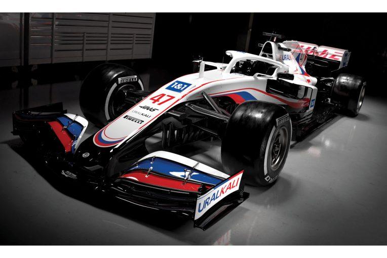 F1 | 【ギャラリー】2021年型ハースF1マシン『VF-21』カラーリング
