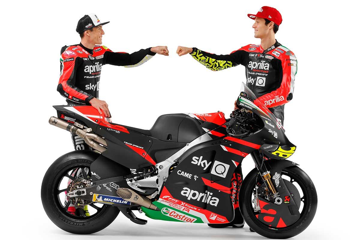 2021MotoGP:アレイシ・エスパルガロ、ロレンツォ・サバドーリ(アプリリア・レーシング・チーム・グレシーニ)