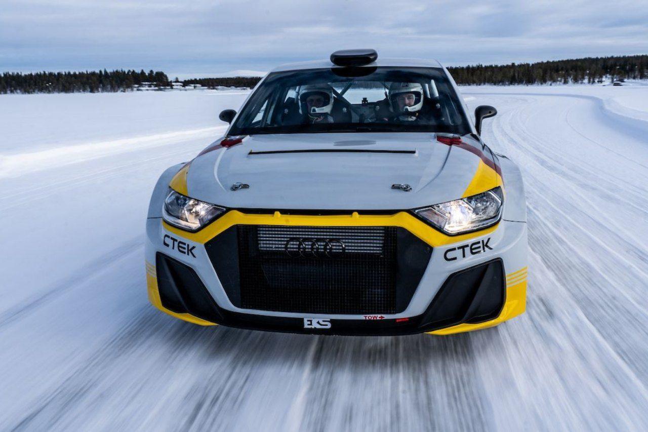 エクストローム率いる新生EKS JC、Rally2規定『アウディA1クワトロ』を発表