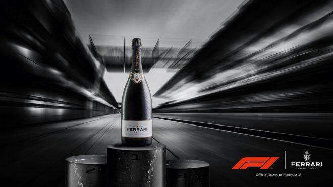 F1が公式スパークリングワインとしてフェッラーリ・トレントと契約