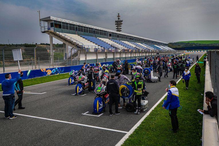 MotoGP | MotoEのヘレステスト1回目が完了。最終日はレースシミュレーションも実施
