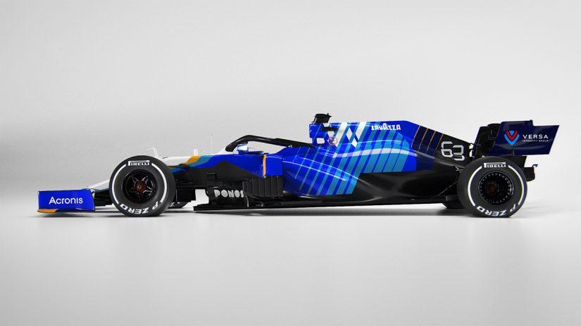 F1   ウイリアムズF1が2021年型マシン『FW43B』をアンベイル。ランキング最下位からの脱出を目指す