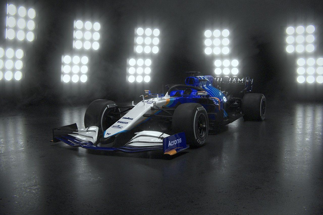 ウイリアムズ2021年型F1マシン『FW43B』