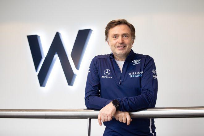 ウイリアムズ2021年型F1『FW43B』発表会でのウイリアムズ・レーシングのCEOヨースト・カピート