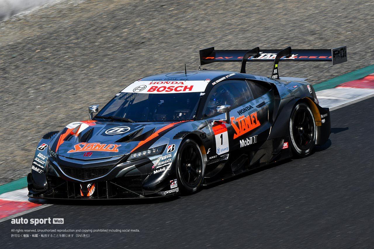 2021年スーパーGT岡山公式テスト走行全車総覧  GT500クラス