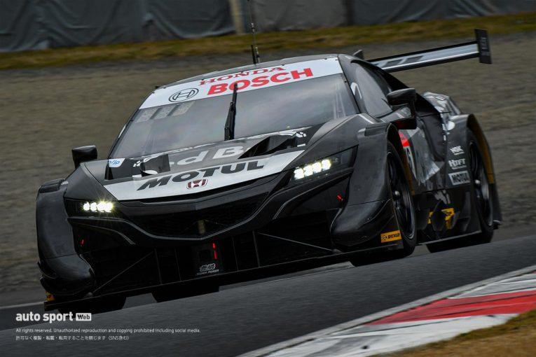 スーパーGT | スーパーGT岡山公式テストの1日目午後はRed Bull MOTUL MUGEN NSX-GTがトップタイム