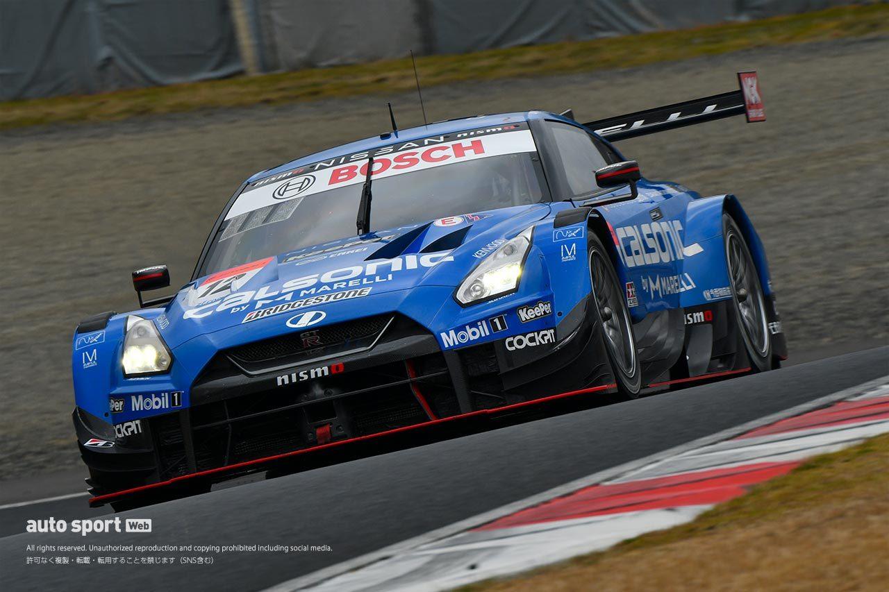 スーパーGT岡山公式テストの1日目午後はRed Bull MOTUL MUGEN NSX-GTがトップタイム