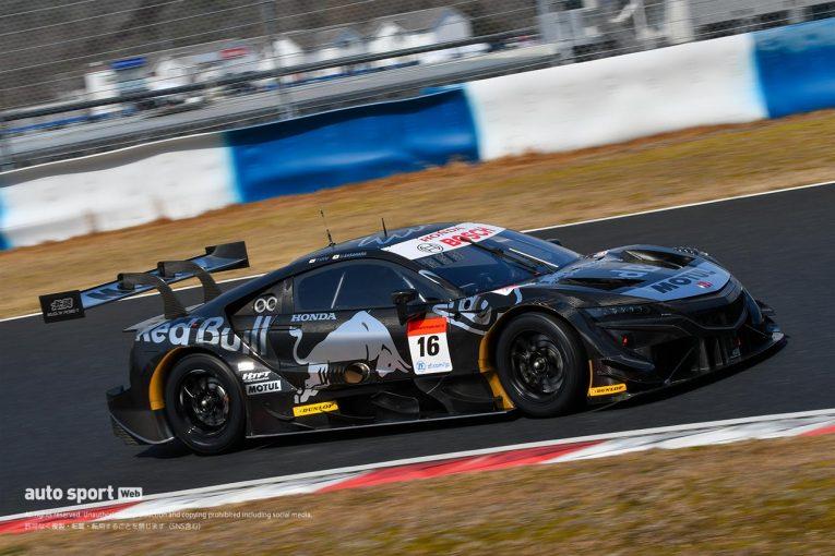 スーパーGT | 公式テスト初日午後トップタイムのRed Bull MOTUL MUGEN NSX-GT。多くの課題も今後に期待