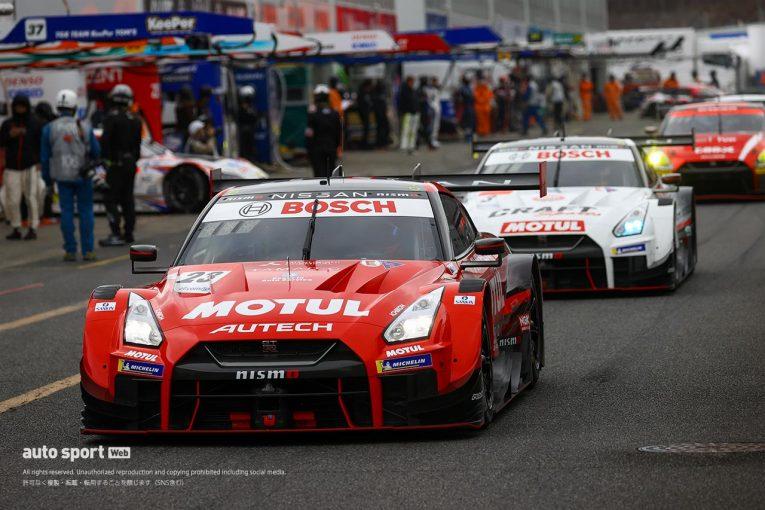 スーパーGT   スーパーGT第1戦岡山で適用の『特別BoP』で、GT500のエンジンパワー競争は過酷になる可能性も