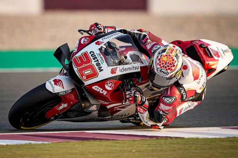 MotoGP | 中上貴晶「新しいマシンを理解するため、引き続き一生懸命がんばります」/MotoGPカタール公式テスト1日目