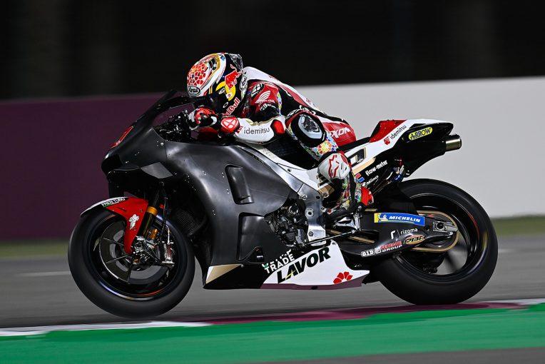 MotoGP | 中上貴晶、新カウルなど「重要なパーツをテストして、とても忙しい一日に」/MotoGPカタール公式テスト2日目