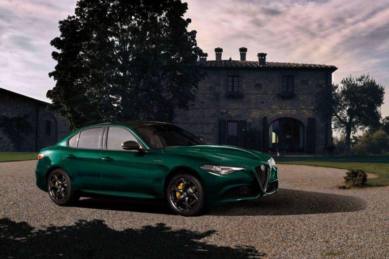 クルマ   『アルファロメオ・ジュリア』に、歴史に紐づく特別なグリーン採用の限定車が登場