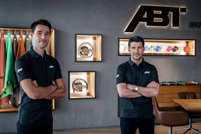 海外レース他 | 新生DTM参戦のアプト、王者ロッケンフェラーと新人ファン・デル・リンデの起用を発表