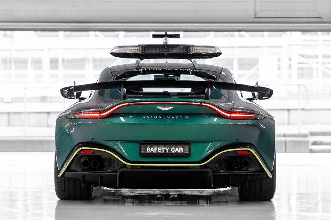 F1、2021年シーズンよりアストンマーティンのセーフティカー&メディカルカーを使用。メルセデスも継続