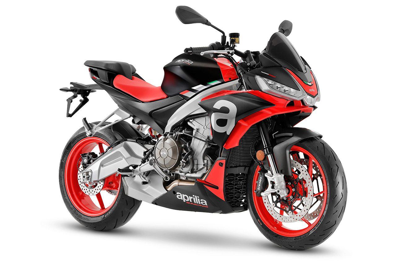 アプリリア・トゥオーノ660、国内での受注開始。価格は130万9000円で6月より順次出荷