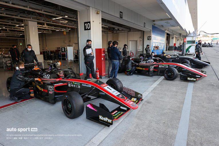 国内レース他 | スーパーフォーミュラ・ライツ合同テストは午前はアレジ、午後は宮田が首位。松下が続く