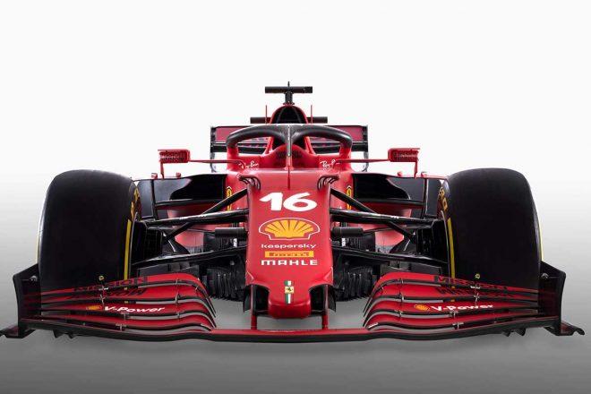 フェラーリの2021年型F1マシン『SF21』アップ