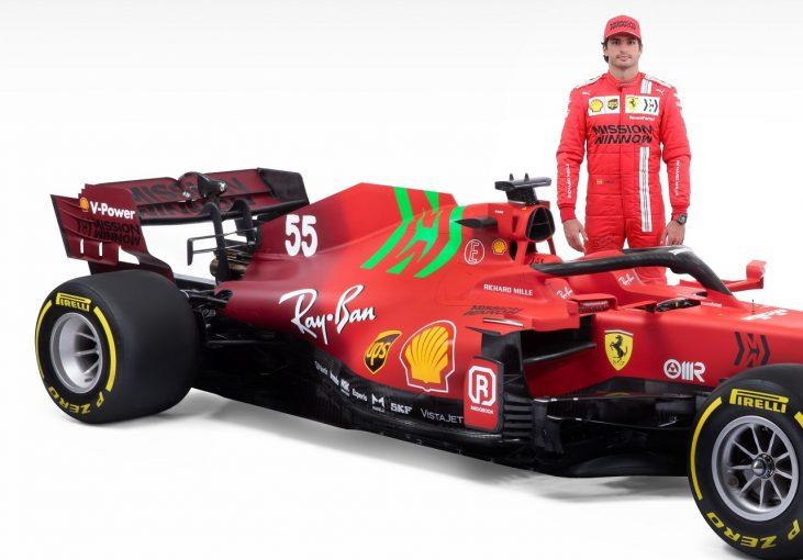 F1 | フェラーリ2021年型F1マシン『SF21』:リヤエンドを大幅変更し、ワイドノーズを維持。パワーユニットは一新
