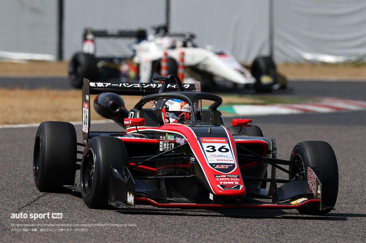 全日本スーパーフォーミュラ・ライツ選手権鈴鹿合同テストの2日目は名取鉄平がトップタイム