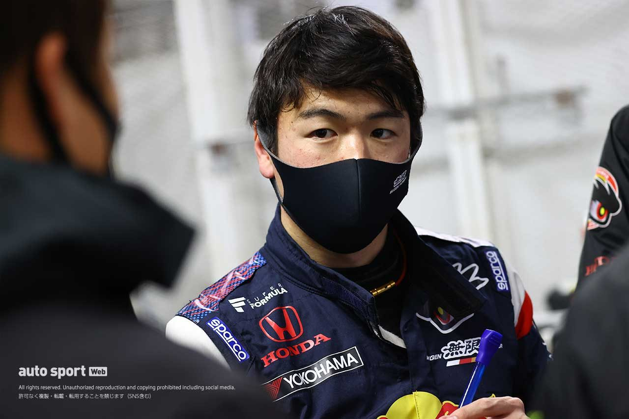 大津弘樹(Red Bull MUGEN Team Goh)