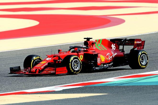 フェラーリが2021年型F1マシン『SF21』のシェイクダウンを実施(シャルル・ルクレール)