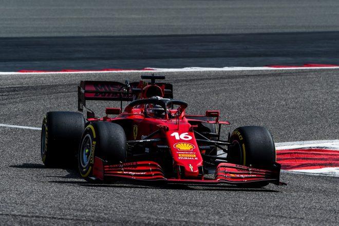 シャルル・ルクレールがフェラーリ2021年型F1マシン『SF21』で初走行