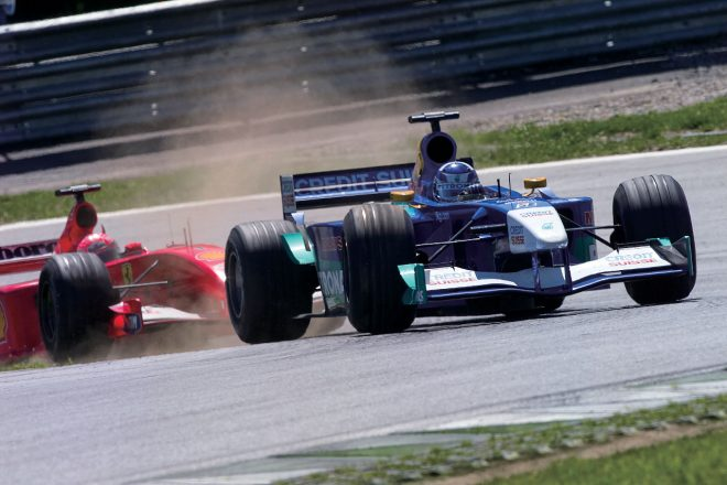 ペトロナスエンジンという名のフェラーリ製エンジンが搭載されたザウバーC20。この年、ザウバー史上最高位のコンストラクターズ選手権4位となった。