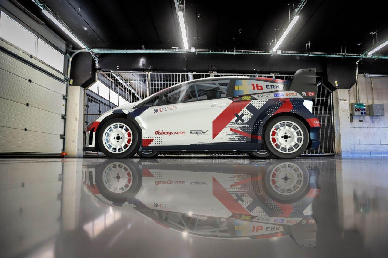 """レース・オブ・チャンピオンズ2022年大会でEVラリークロス車両の""""RX2e""""を採用へ"""