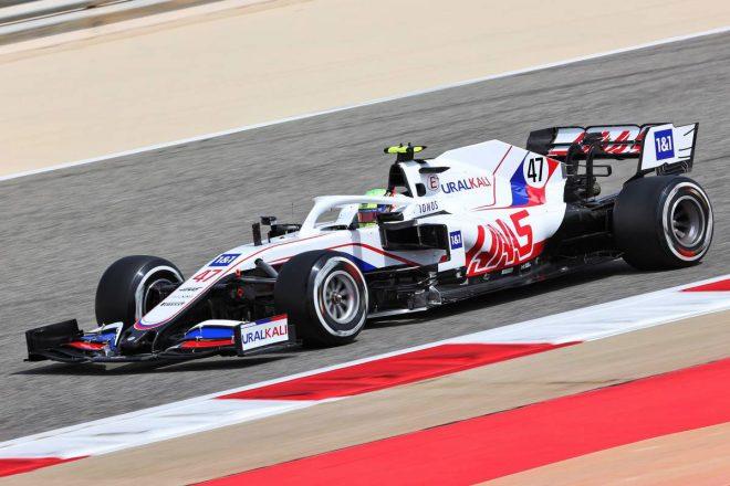 2021年F1プレシーズンテスト1日目 ミック・シューマッハー(ハース)