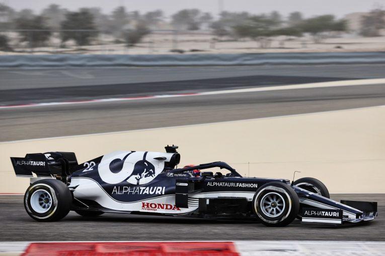 F1 | 【F1プレシーズンテスト1日目・タイム結果】ルーキー角田、ガスリーに肉薄。最速はレッドブル・ホンダのフェルスタッペン