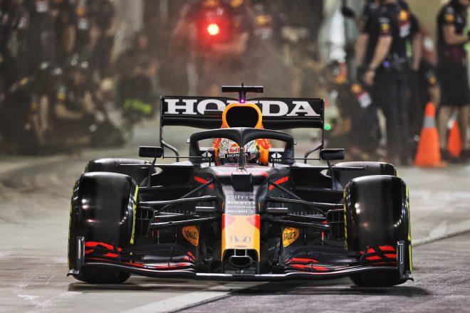 2021年F1プレシーズンテスト1日目 マックス・フェルスタッペン(レッドブル・ホンダ)