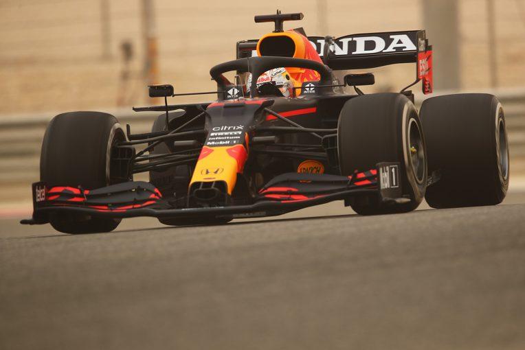 F1   レッドブル・ホンダ分析:新骨格パワーユニット投入のテスト初日に最速タイムも、フェルスタッペンに奢りなし