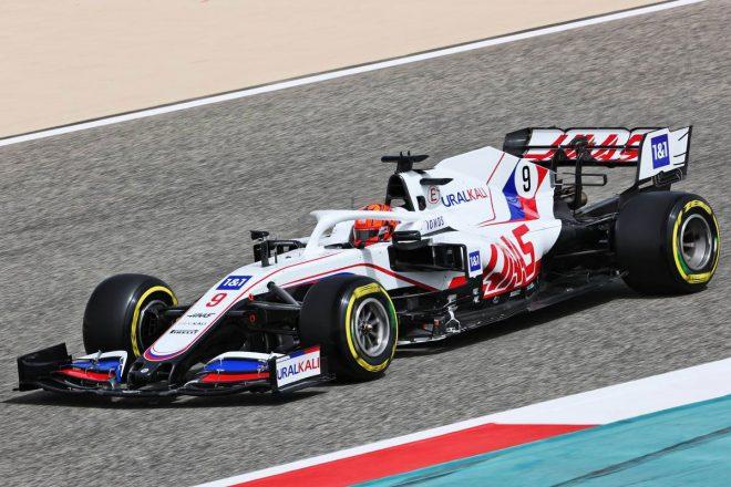 2021年F1プレシーズンテスト2日目 ニキータ・マゼピン(ハース)