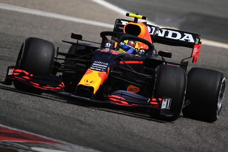F1   レッドブル・ホンダ分析:ペレスがレースシミュレーションを実施。RB16Bは追い風の難所でも安定感を見せる