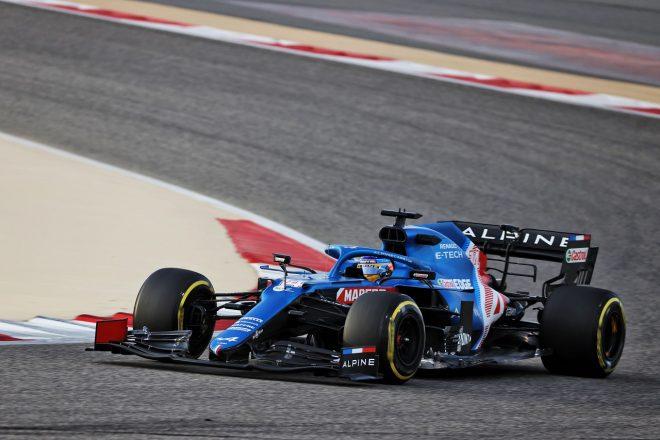 2021年F1プレシーズンテスト2日目 フェルナンド・アロンソ(アルピーヌA521)