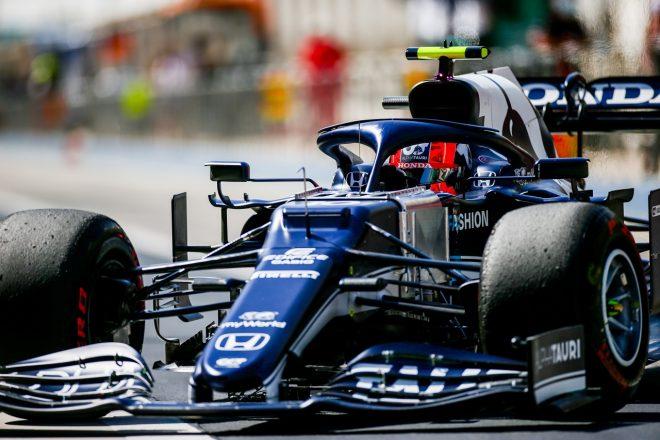 2021年F1プレシーズンテスト3日目 ピエール・ガスリー(アルファタウリ・ホンダ)
