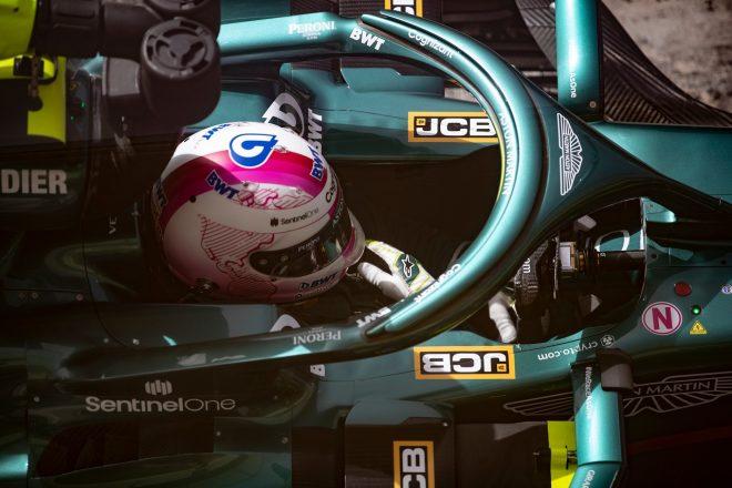 2021年F1プレシーズンテスト3日目 セバスチャン・ベッテル(アストンマーティン)