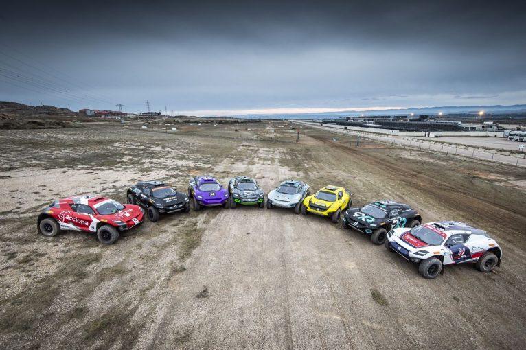 ラリー/WRC | バトンやサインツ、ローブなど豪華ドライバー陣が参戦のエクストリームEがDAZNで配信決定