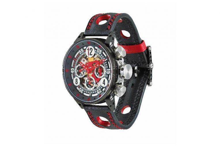 スーパーフォーミュラ | フランスの時計メーカーB.R.Mがスーパーフォーミュラ協賛パートナーに。PP、王者にクロノグラフ贈呈