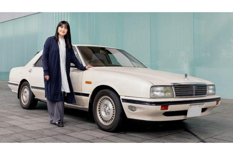 クルマ   ニッサン、女優伊藤かずえさんの愛車『初代シーマ』のレストアを実施へ